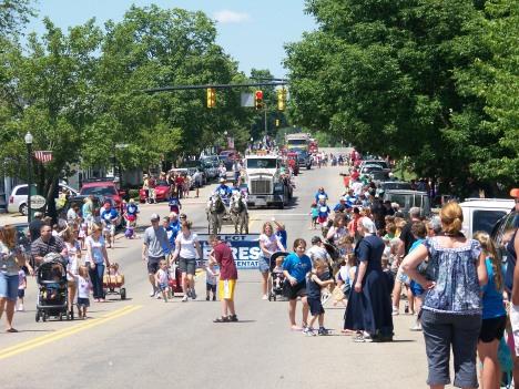 New Concord Fireman's Festival Parade