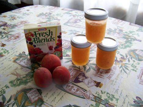 Homemade Peach Jam made with Fresh Peaches