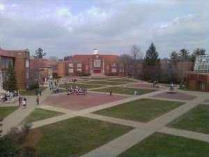 Spring on the Quad