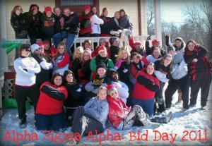 Bid Day 2011 :) one of my favorite days ever!