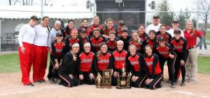 A picture of my team and I after we won the OAC Tournament last spring
